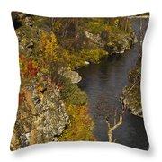 Little Gorge Throw Pillow