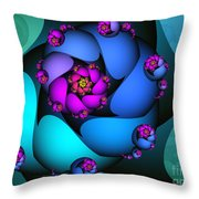 Little In The Middle Throw Pillow