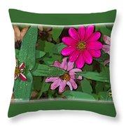 Little Pinks Throw Pillow