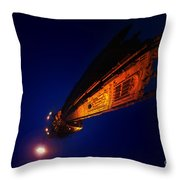Little Planet - Derby Cathedral Throw Pillow
