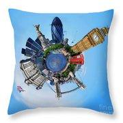 Little Planet - London Throw Pillow