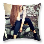 Liuda1 Throw Pillow