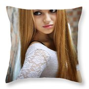 Liuda12 Throw Pillow