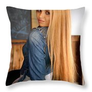 Liuda13 Throw Pillow