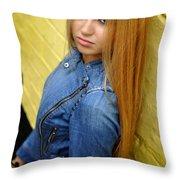 Liuda16 Throw Pillow