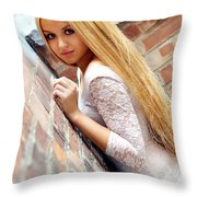 Liuda3 Throw Pillow
