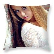 Liuda4 Throw Pillow