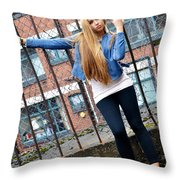 Liuda9 Throw Pillow