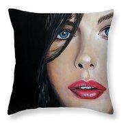 Liv Tyler Throw Pillow