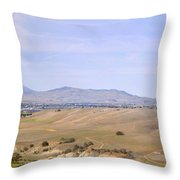 Livermore Valley Panorama Throw Pillow