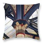 Liverpool Street Skylight Throw Pillow