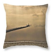 Livin On The Edge Throw Pillow