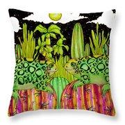 Lizards In Love Throw Pillow