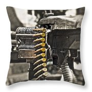 Load Of Ambition Throw Pillow by Gwyn Newcombe