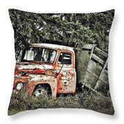 Load Of Roots Throw Pillow