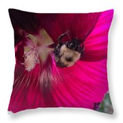 Loaded Bee Throw Pillow