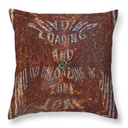 Loading And Unloading Zone Throw Pillow