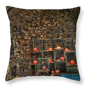 Lobster Pot Arch Throw Pillow