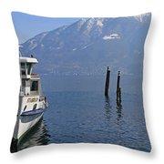 Locarno Throw Pillow by Joana Kruse