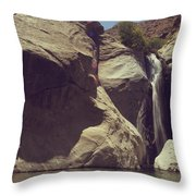 Location Shoot Throw Pillow
