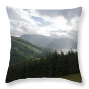Loch Leven Throw Pillow