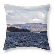 Loch Lomond - Pano1 Throw Pillow