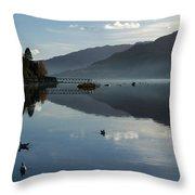 Lochgoilhead Throw Pillow