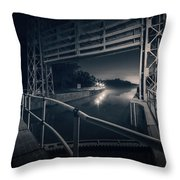 Lock 23 Throw Pillow