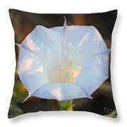 Loco Weed Flower Throw Pillow