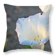 Loco Weed Flowers 1 Throw Pillow