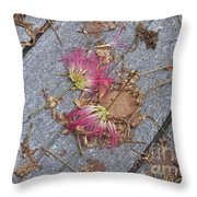 Locust Fans Throw Pillow