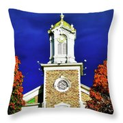 Logan Utah Lds Tabernacle Throw Pillow
