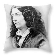 Lola Montez (1818-1861) Throw Pillow