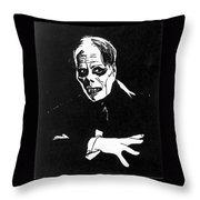 Lon Chaney As The Phantom Throw Pillow
