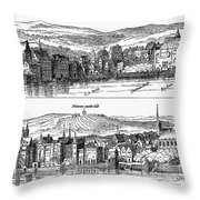 London, 16th Century Throw Pillow