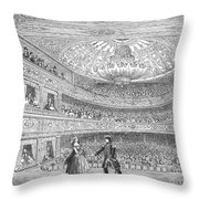 London: Adelphi Theatre Throw Pillow