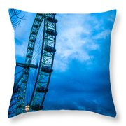 London Eye At Westminster Throw Pillow