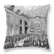 London: Freemasons Hall Throw Pillow by Granger