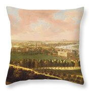 London From Greenwich Hill Throw Pillow