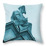 London Is Never Boring Throw Pillow
