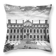 London: Montagu House Throw Pillow