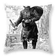 London: Peddlar Throw Pillow