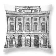 London: Royal Academy Throw Pillow