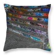 London Skatepark 4 Throw Pillow