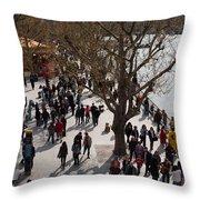 London South Bank Throw Pillow