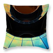 London Southbank Abstract View Throw Pillow