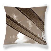 London Tower Brigde 5 Throw Pillow