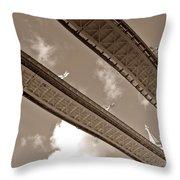 London Tower Brigde 6 Throw Pillow