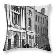 London: Watermans Hall Throw Pillow