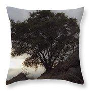 Lone Oak 2 Throw Pillow